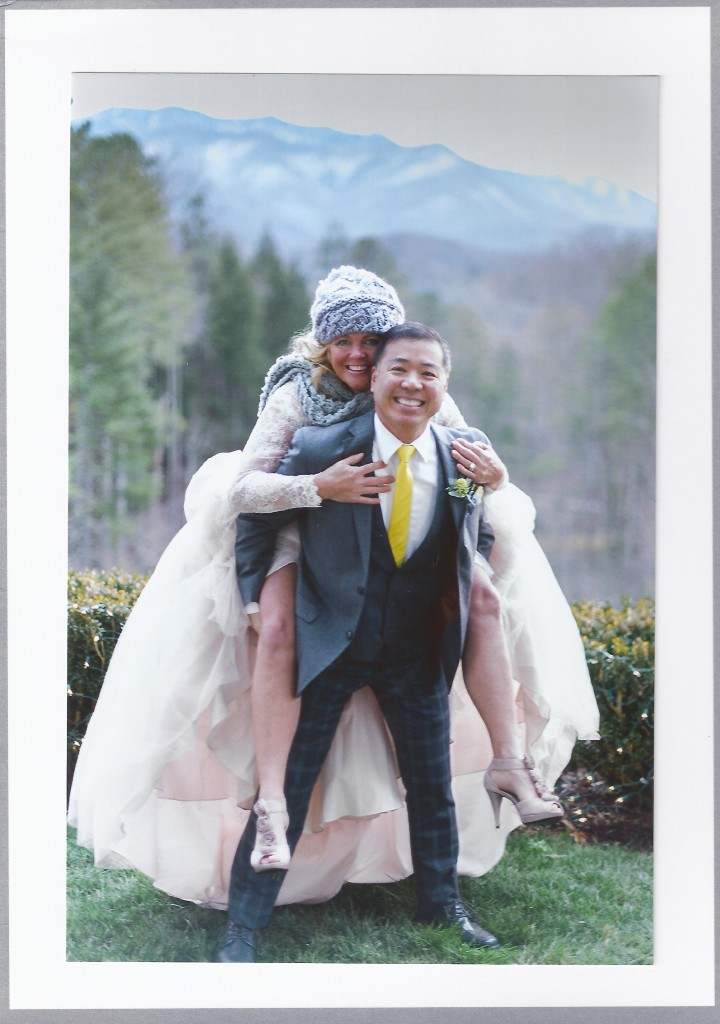 Jerry Pang and Bride