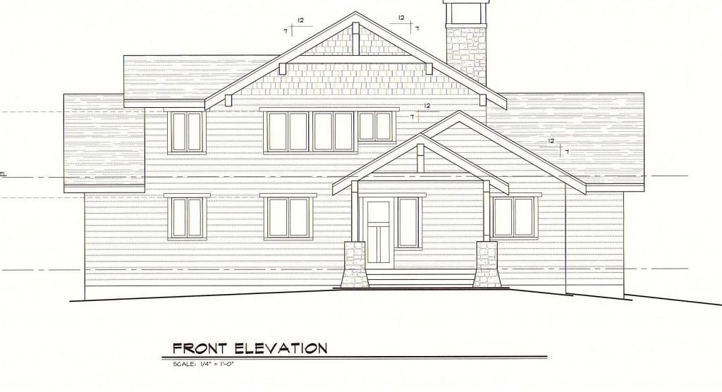Greenbrier House Front Elevation