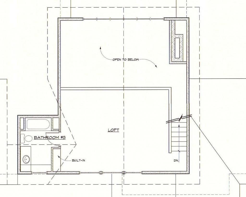 Greenbrier Loft Plan