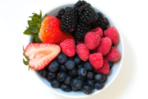 Bumbleberry desserts are made with a variety of mixed berries.
