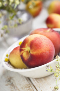 What could make these peaches even more delicous?  Ice Cream!
