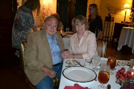 James and Cheryl Nipper were first-time guests at the Buckhorn this year.
