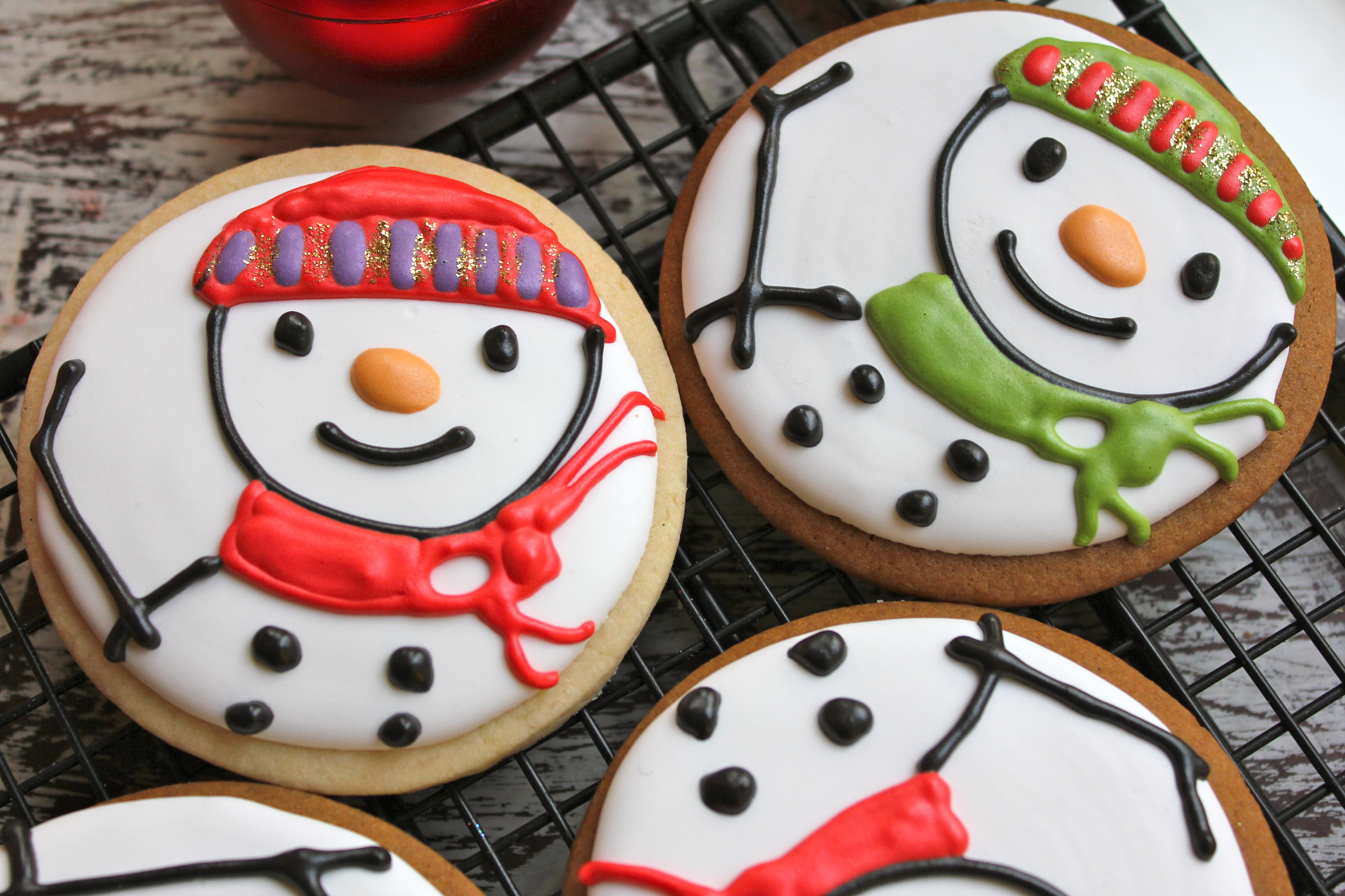 stamped sugar cookie colorful - Pictures Of Decorated Christmas Sugar Cookies