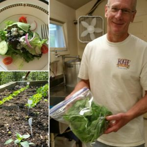 Our inn-grown lettuce salad creations are fun for the gardener, the chef, and the diner!