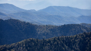 Buckhorn Inn offers views of Mt. LeConte.