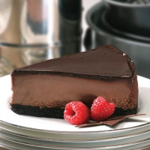 Double Chocoalate Cheesecake