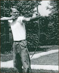 Charys' new husband, Haynes Freeman, took up archery when he and his new bride celebrated their honeymoon at Buckhorn in 1947.