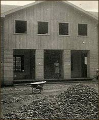 Buckhorn Inn was constructed by local craftsmen without the assistance of electrical power.