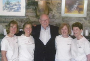 John Mellor and Girls Sping 2004