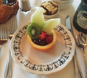Breakfast fruit 2016