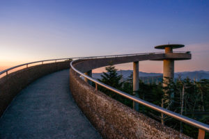 Clingman's Dome is a great activity.