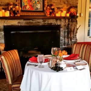Paula Deen's magazine recommends the fine dining at Buckhorn Inn.