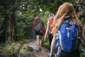 Visitors enjoy hiking Mount LeConte during off seasons.