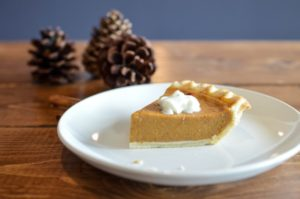 Pumpkin pie is a delicious end to any fall meal.