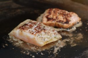 Our cookbook contains many recipes for delicious fish dishes.